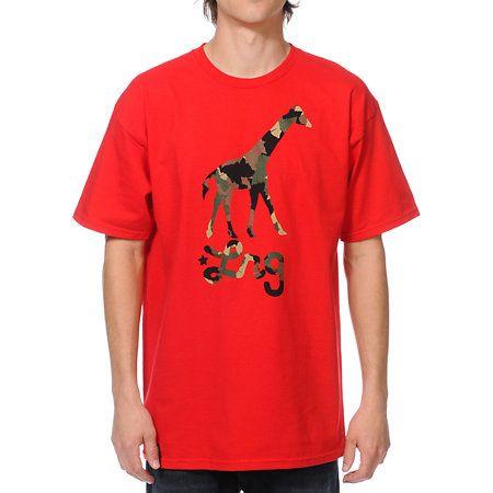shirt with camo giraffe - Google Search