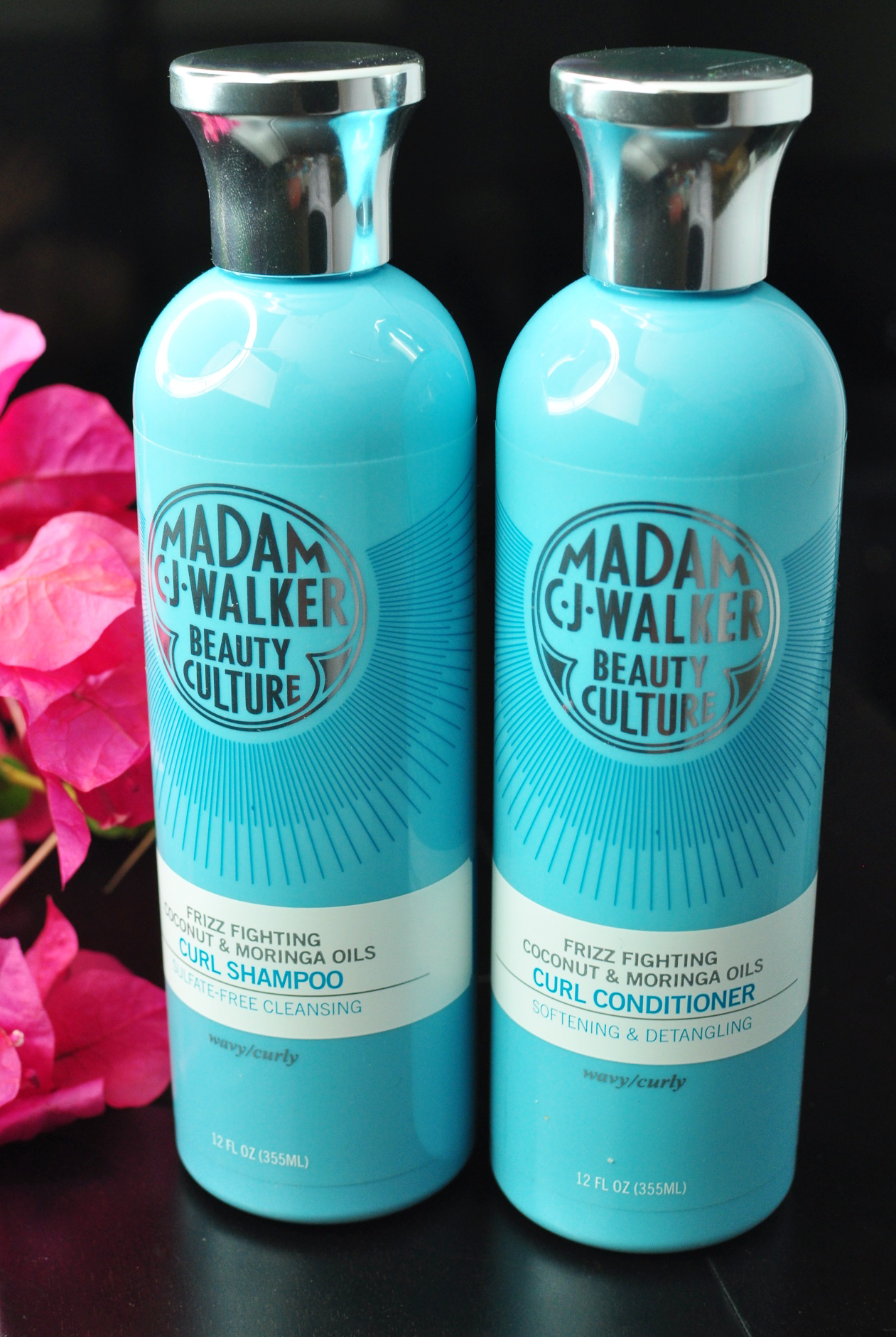 Madam C.J. Walker Beauty Culture Coconut & Moringa Oils