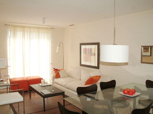 Un espacio compartido living comedor decoraci n de for Living comedor espacios reducidos