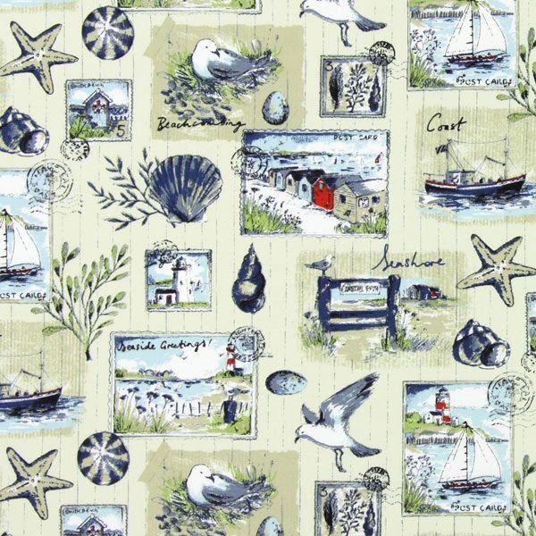 Nautical lorraine 2 tessuti arredo stile marina tessuti for Tessuti arredo stile marina