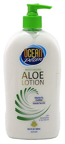Ocean Potion Aloe Lotion Moisturizing 205oz Pump 3 Pack Find Out More About The Great Product At The Image Link Lotion Aloe Pure Aloe Vera Gel