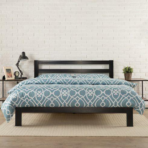 Avey Platform Bed With Images Metal Platform Bed Bed Frame