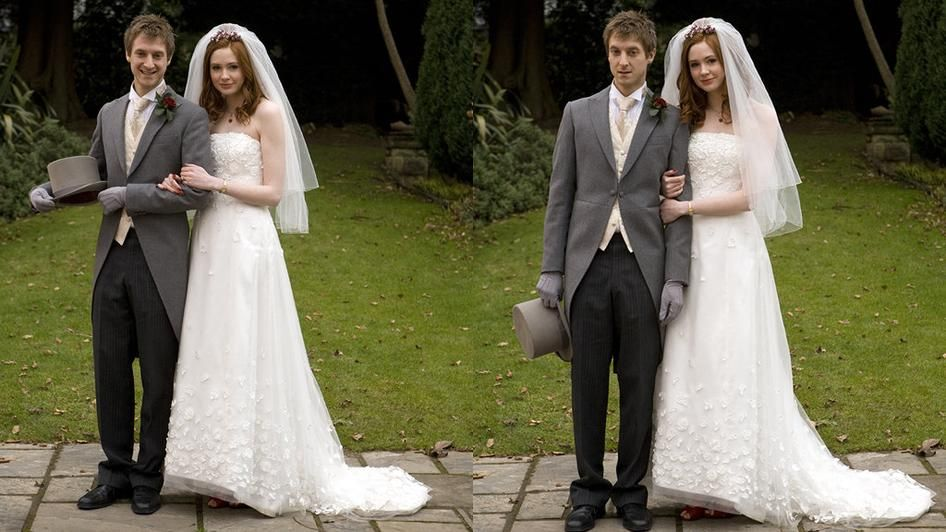 I Have Amy Pond S Wedding Dress Pond Wedding Doctor Who