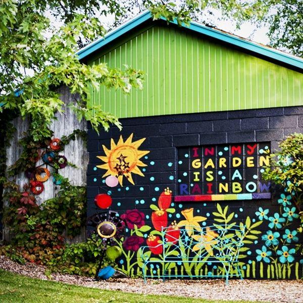Garden Art, Metal Flowers, Art