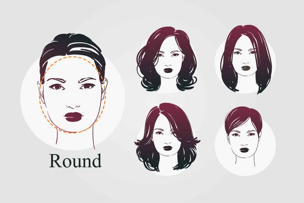 24+ Long hairstyles with round face shapes trends