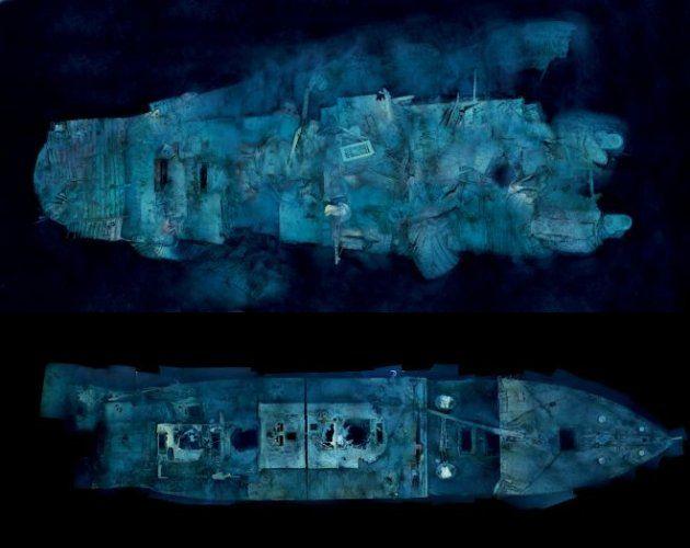 photos of both pieces of wreckage | Titanic | Titanic ...