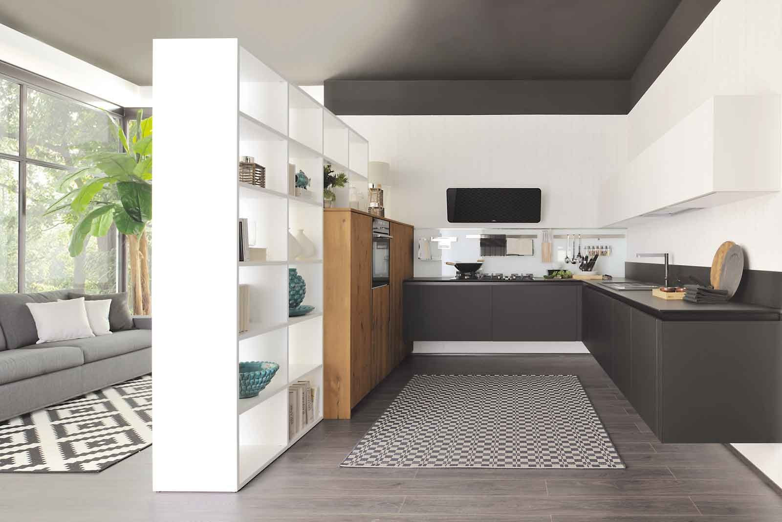 Nelle case moderne è sempre più diffuso l'open space per la zona living. Pin Su For The Kitchen