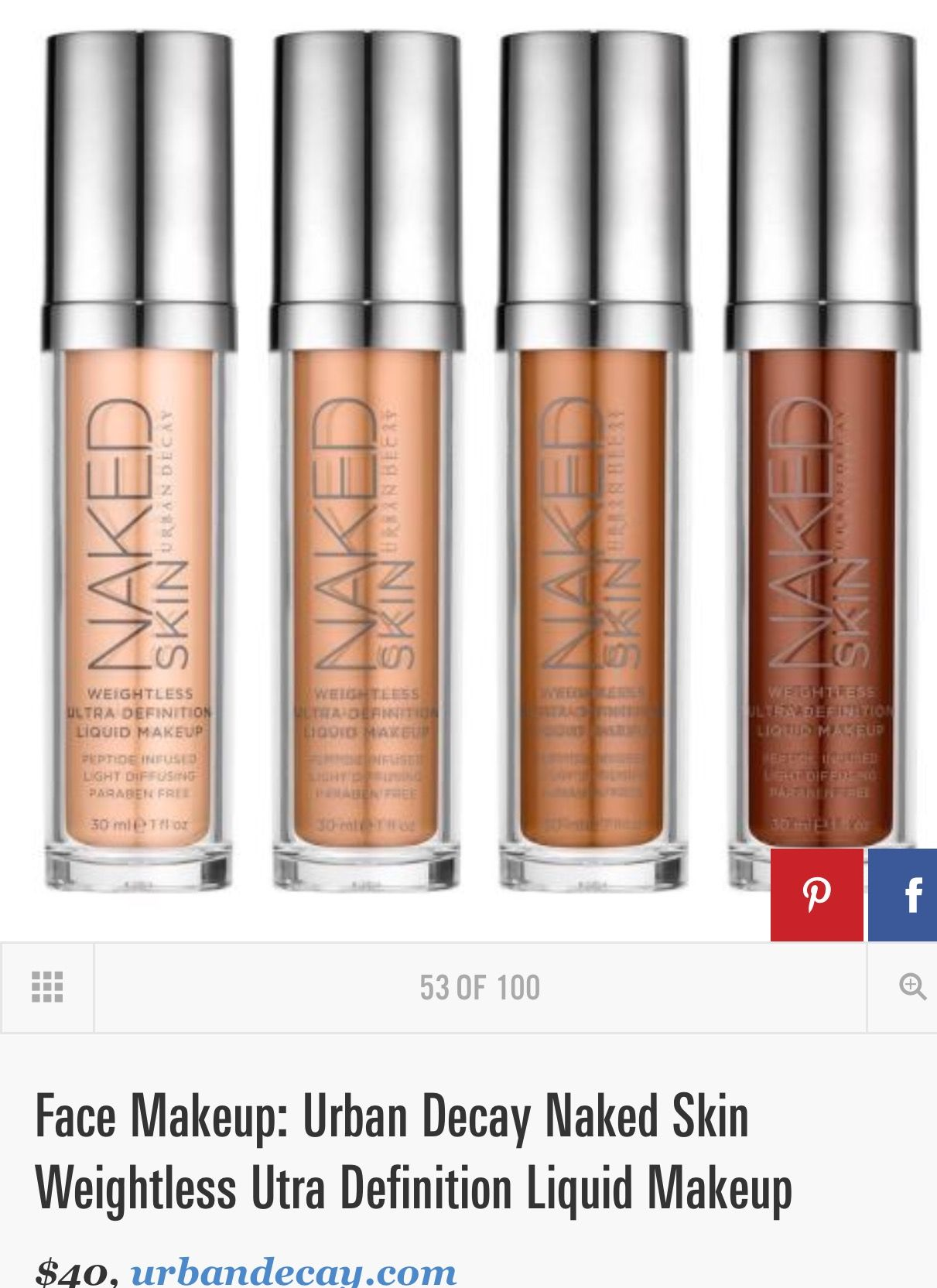 Pin by PJH07 on Foundation & concealers Liquid makeup