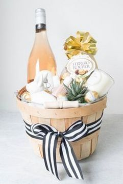 Corporate gifts do not need to be extravagant or expensive to earn adult easter basket okay okay so we know what we said about easter baskets but an adult basket that includes a favorite candle gourmet chocolate negle Images