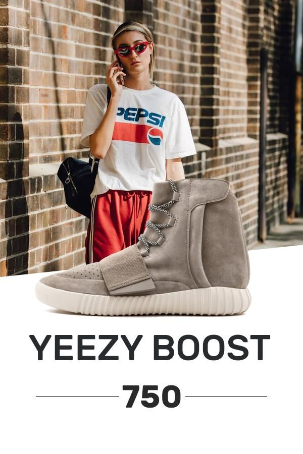 87894308e5630 Order Adidas Yeezy Boost 750 Gray   White knock off shoes in 2019 ...