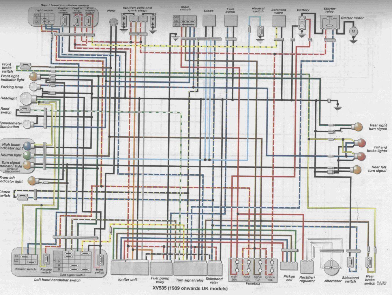 93 yamaha virago wiring diagram wiring diagram fascinating 93 yamaha virago wiring diagram [ 1359 x 1024 Pixel ]