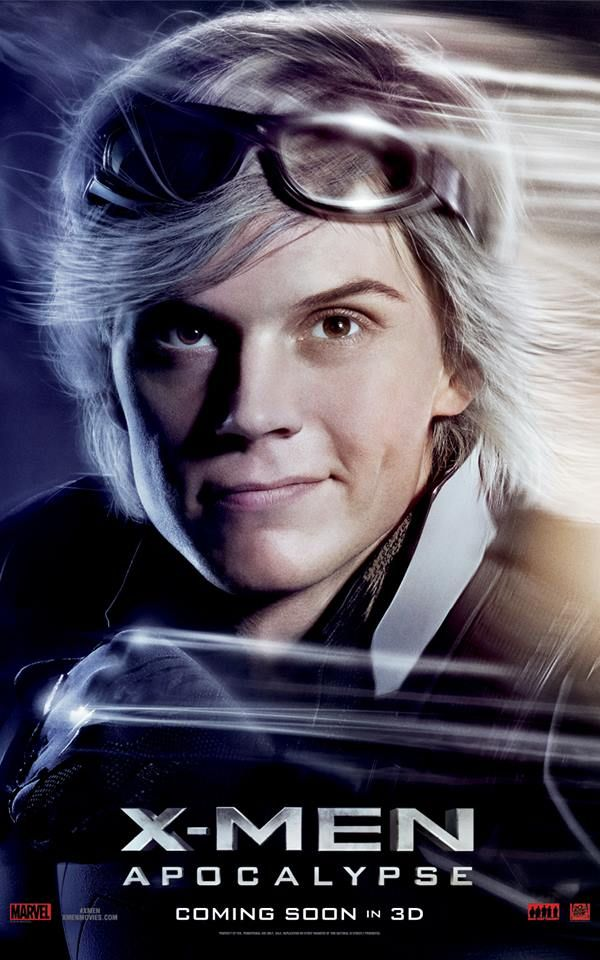 Evan Peters Is Quicksilver See X Men Apocalypse In Theaters May 27 Xmen Apocalypse X Men X Men Apocalypse
