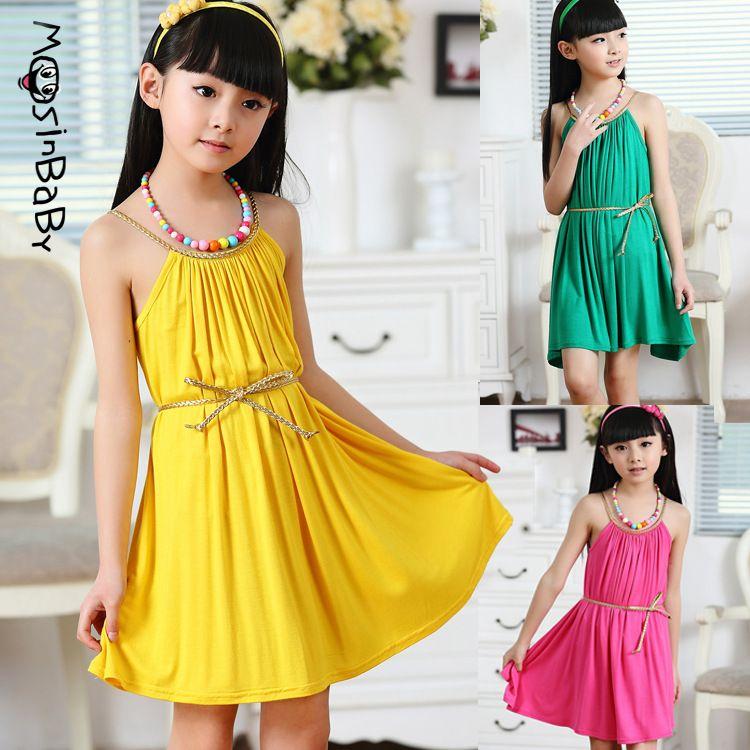 Years Princess Dress Evening Kid Baby Lemon Print Party Sleeveless Neck Girl