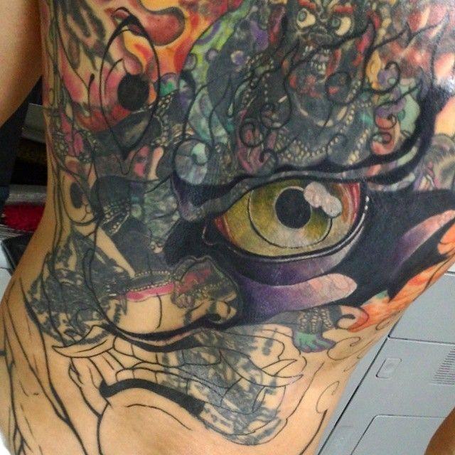 Japanese Tattoo Tibetan God Mahakala Coverup Full Back Singapore Sg Www Ofgodsandmonsters Com Www Instagram Com Of Singapore Tattoo Japanese Tattoo Tattoos