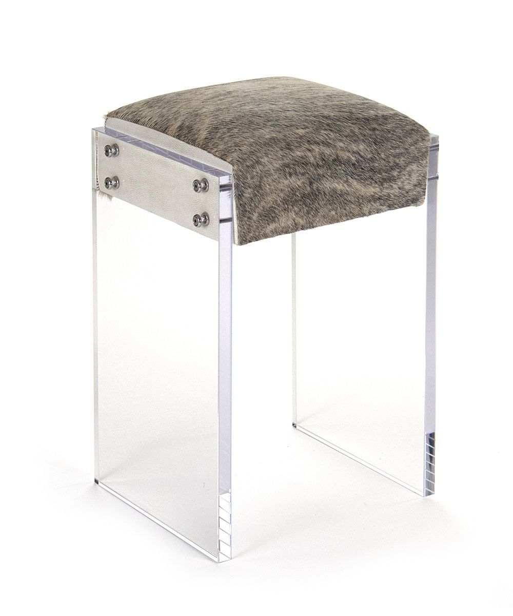 Pleasing Vera Acrylic Counter Stool Cow Hide Acrylic Counter Pabps2019 Chair Design Images Pabps2019Com