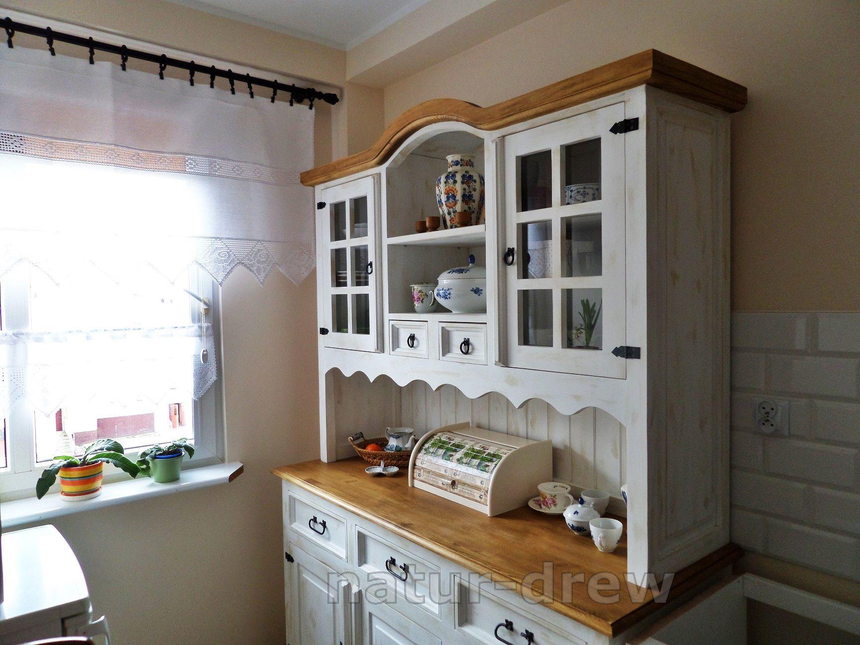 Kredens Kuchenny Retro Postarzany Wiejski Nowosc Home Decor Home Furniture