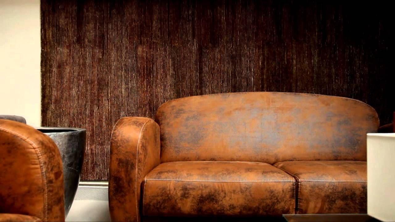 inspirant canapé fauteuil cuir Décoration fran§aise