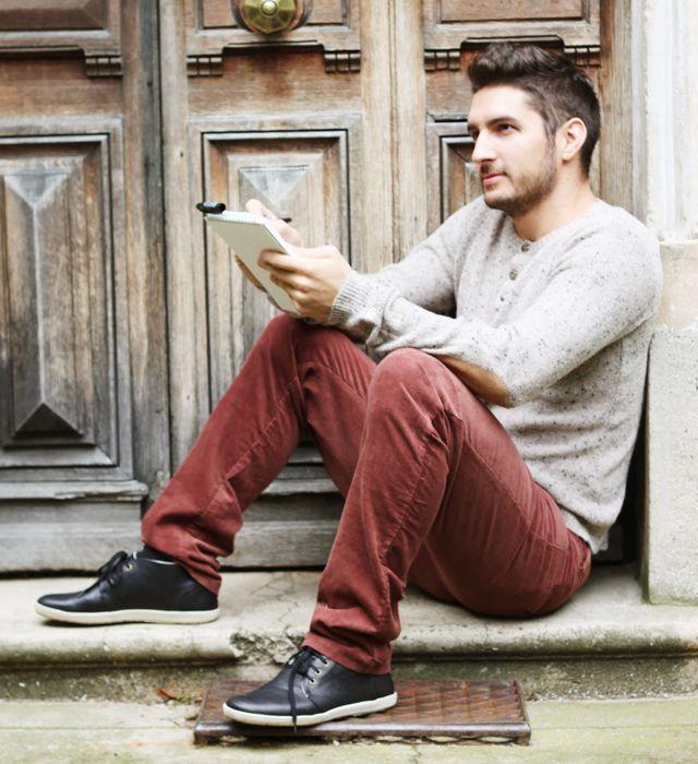 pantalon homme c te de velours et pull kanabeach biologik chaussures hommes el naturalista