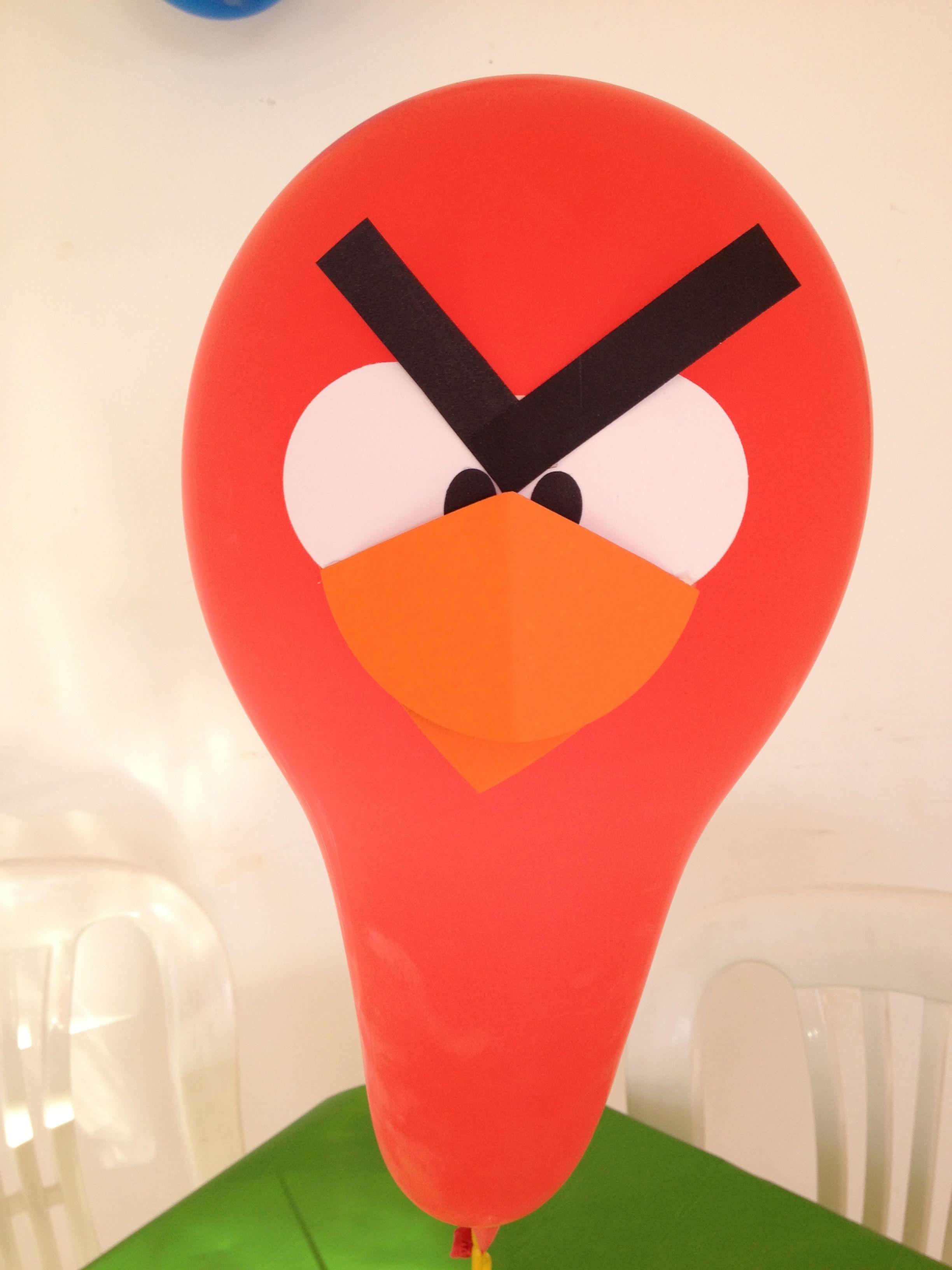 Angry Birds Centro de mesa detalhe