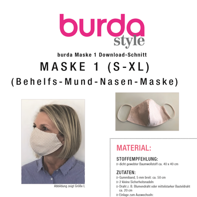 Mundschutz Maske Style