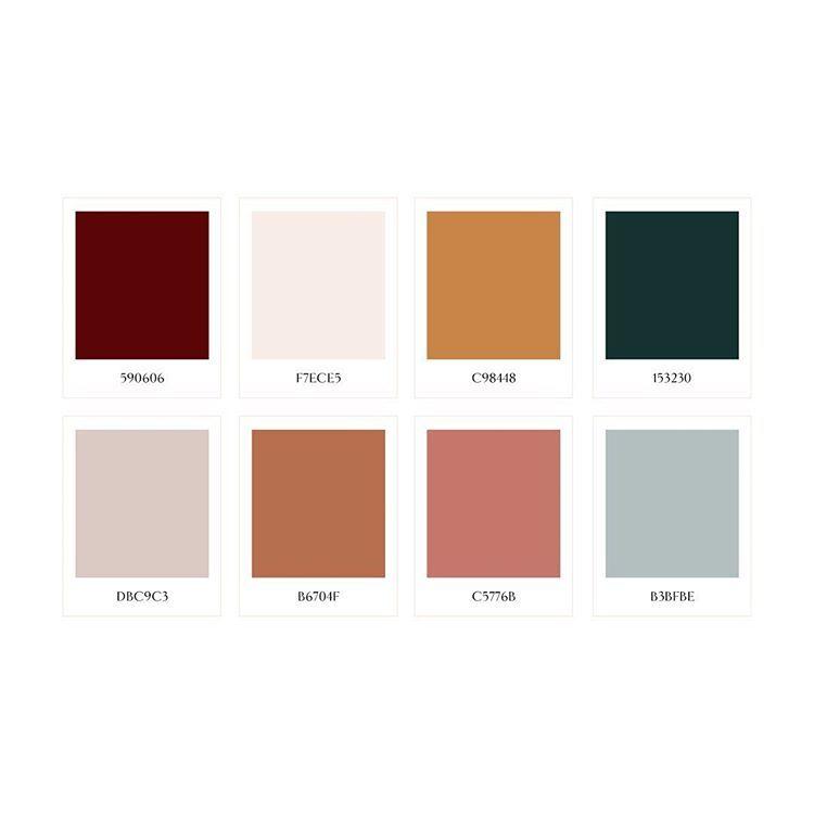 """Brand Design Studio op Instagram: """"This jewel toned color ..."""