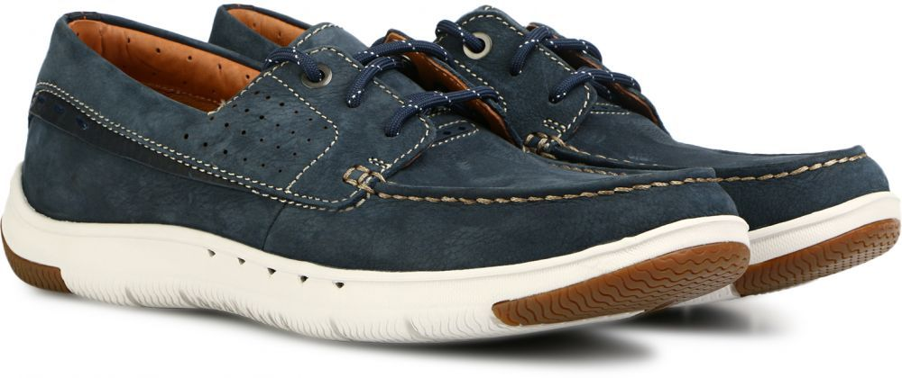 53fe22da Clarks Casual Shoe for Men - 10 US , Denim | Men`s Shoes | Shoes ...