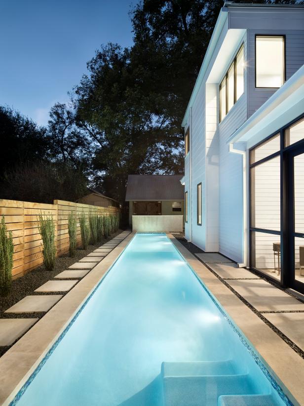 Pin By Jamie Hamblen On Hot Tub Pool In 2020 Lap Pools Backyard Lap Pool Designs Small Swimming Pools