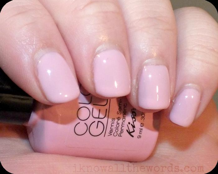 Kiss Color Gel - Petal | me polishes | Pinterest