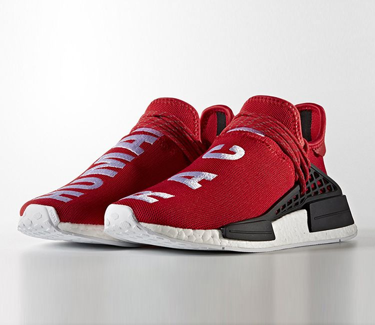 "PHARRELL X ADIDAS NMD ""HUMAN RACE"" - RED"
