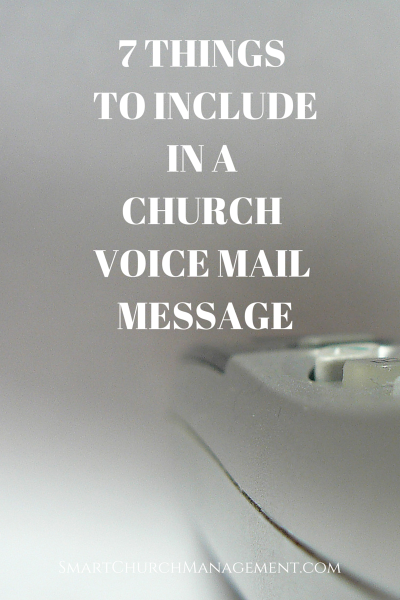 7 things to include in a voicemail message example church voicemail m4hsunfo Choice Image
