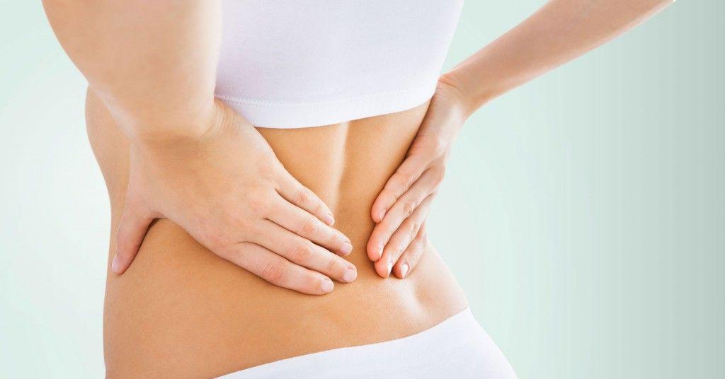 ont i ryggen massage