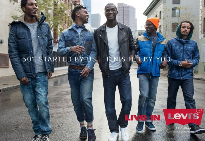 Levi S Launches New Ad Campaign Live In Levi S Denimology Ad Campaign Levi Denim Photography