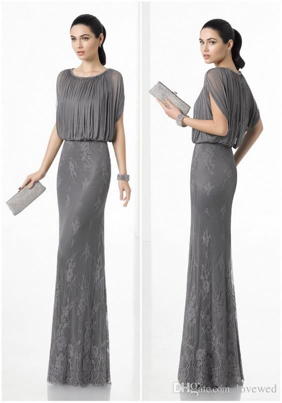 WGIN0434 Mother Of The Bride Dresses Beaded Cap Sleeve Dress With Tulle Skirt Grey Wedding Party Bride MotherS Dresses Mother Bride Mother Groom Dresses From Lovewed, $80.41| DHgate.Com