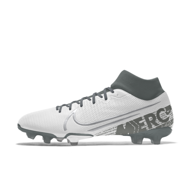 Nike Mercurial Superfly 7 Academy Fg Mg By You Custom Multi Ground Soccer Cleat Custom Soccer Cleats Soccer Cleats Nike Soccer Cleats