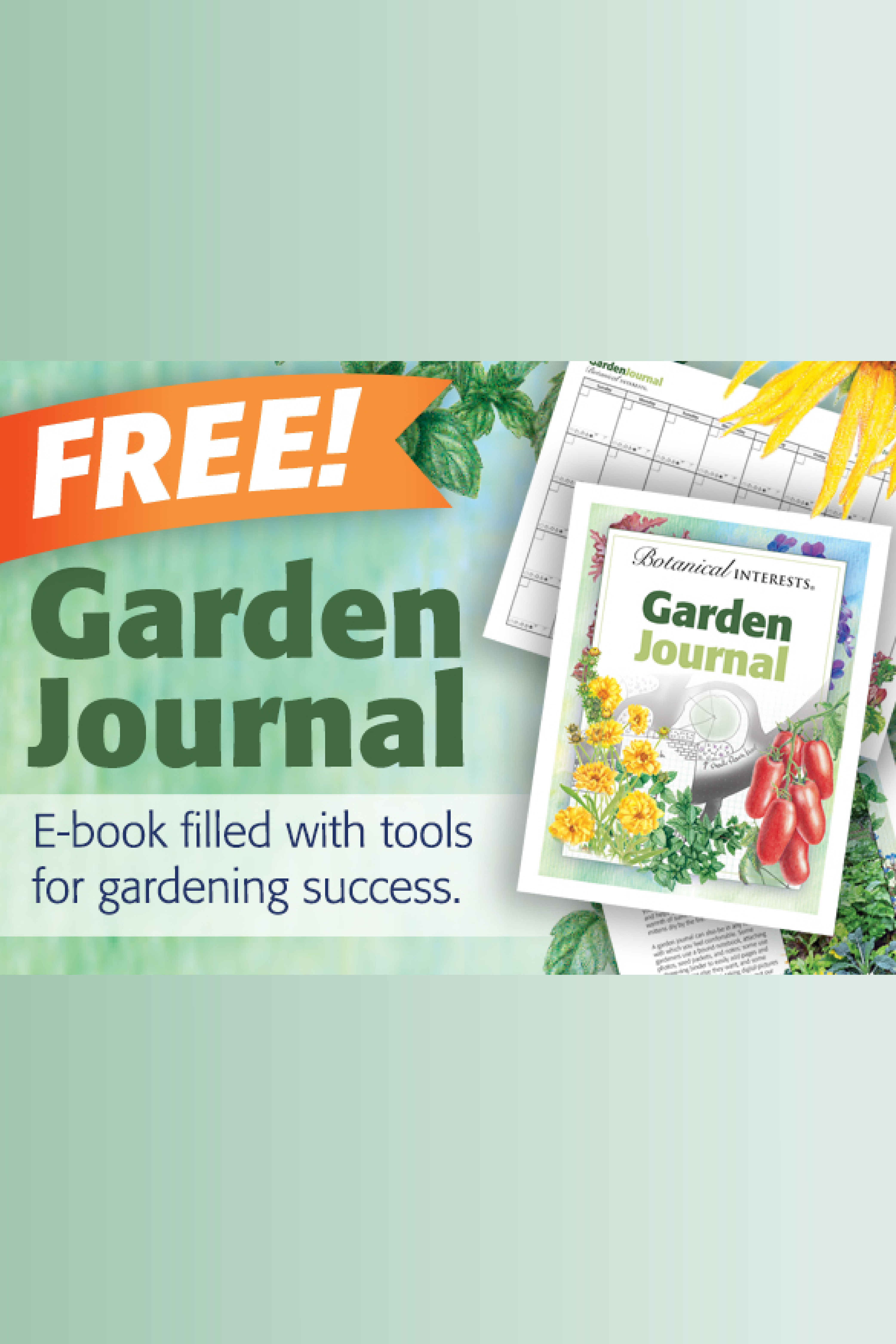 Get Our Free Garden Journal Download Because Seed Starting