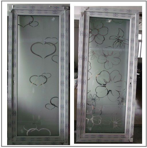 Frosted Glass Aluminium Bathroom Doors Designs View Aluminium Bathroom Doors Mingqi Product Details From Gu Door Glass Design Sliding Door Design Door Design