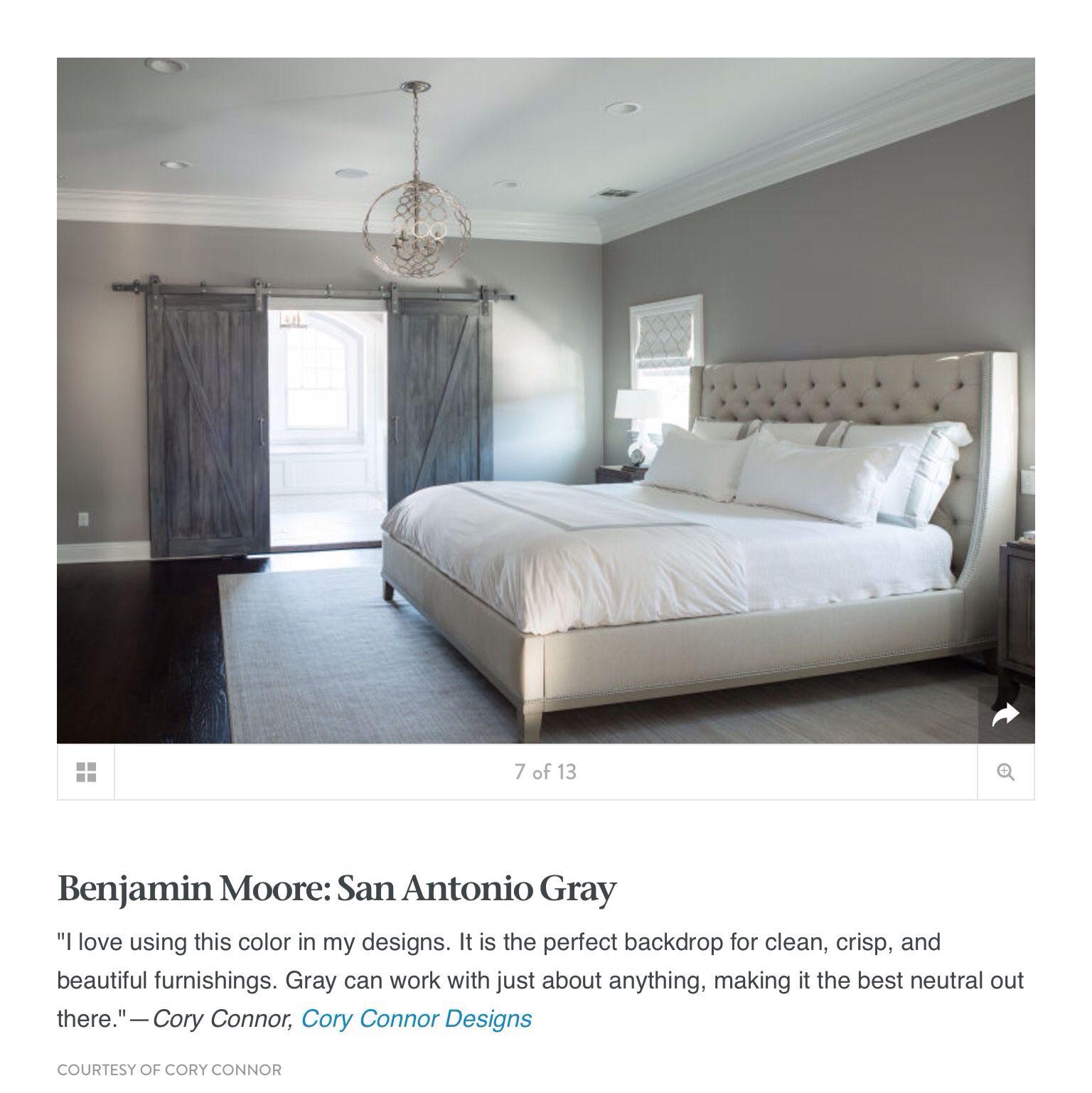 Benjamin Moore San Antonio Gray