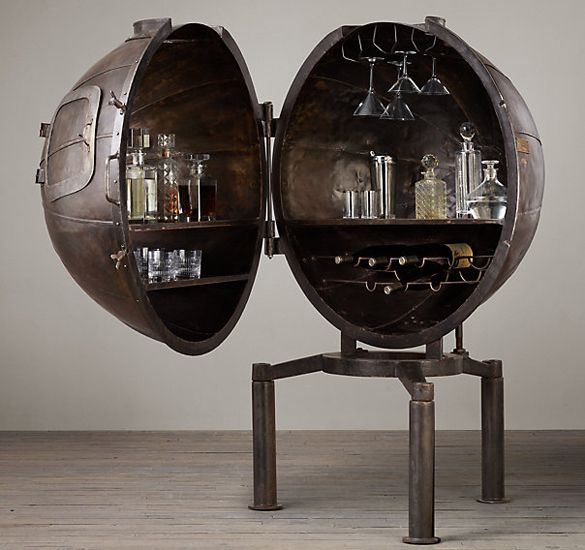 Bar Carts Were Common In The Living Rooms Of 1950s And