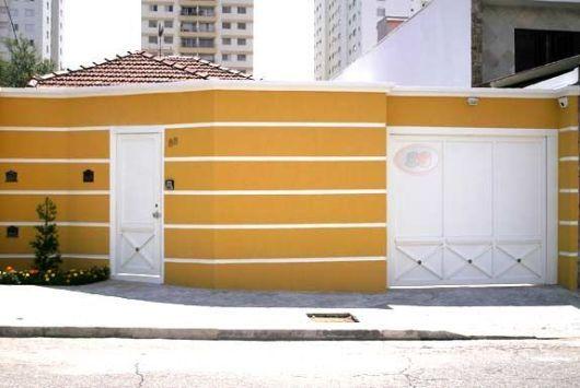 Cores de muro de casas