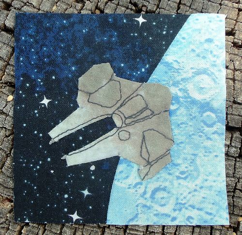 Star Wars block for Bitty Block Bee... by ruthiequilts
