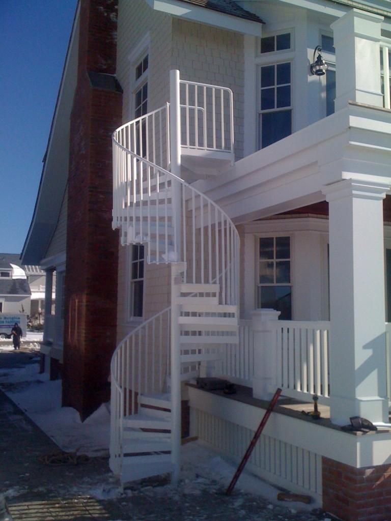 Rcc Spiral Staircase Design Pdf Staircase Design Exterior Handrail Spiral Staircase
