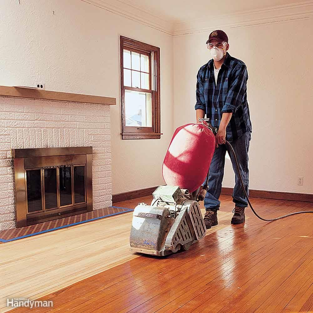 Flawless Floor Sanding Diy Wood Floors Refinishing Hardwood