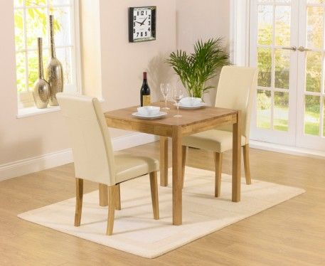 Shop The Oxford Solid Oak Extending Dining Table With Albany Cream Chairs At Furniture Superstore Quick Delivery APR Available