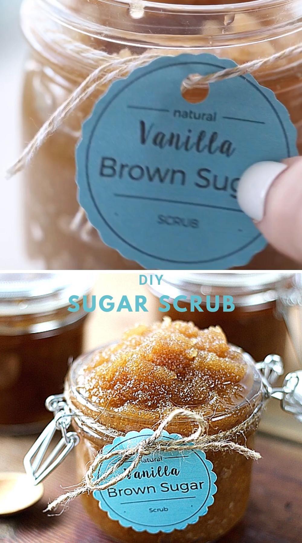 Easy and inexpensive Vanilla Brown Sugar Scrub