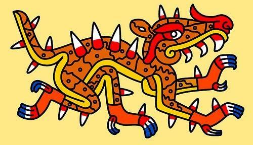 aztec astrology caiman cipactli