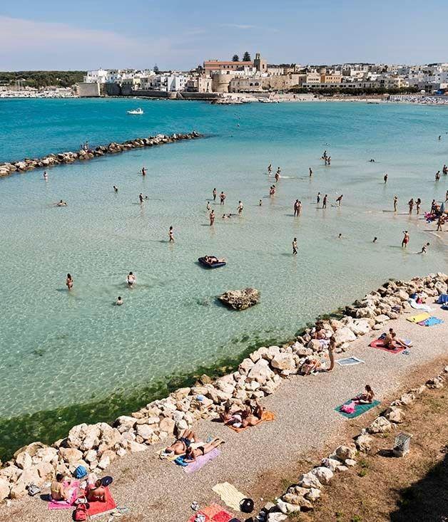 Puglia: the home of Italian hospitality. Otranto, midway along Salento's Adriatic coast