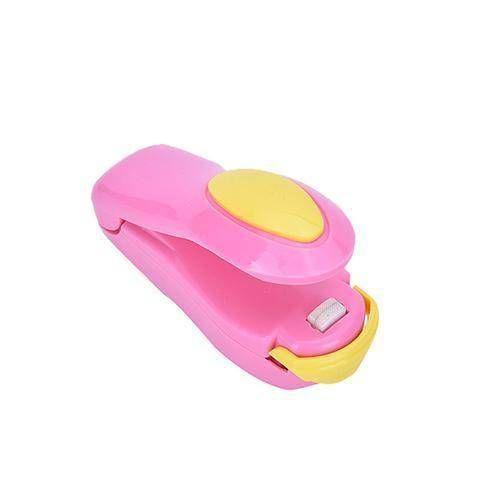 Mini Portable Food Clip - Pink