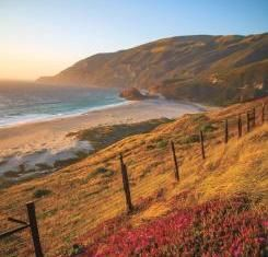 AAA Via Magazine - Coastal view of Santa Lucia range, Big Sur, Calif., image