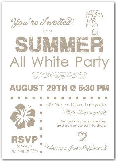 , african american all white party invitations, all white 50th birthday party invitations, all white affair party invitations, invitation samples