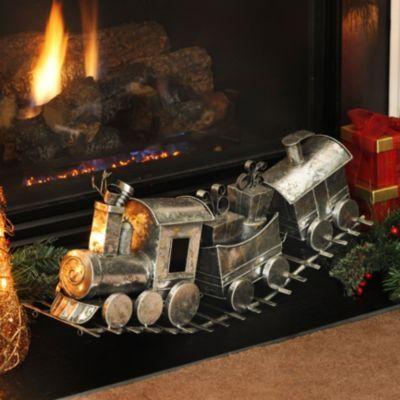 Silver Metal Gift Train Kirkland S Train Decor Holiday Season Christmas Christmas Train